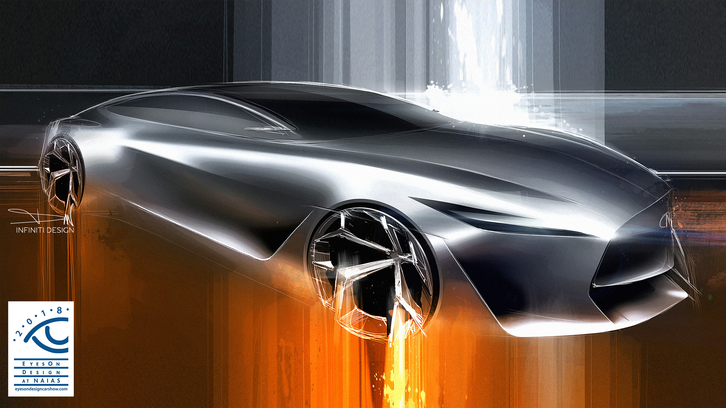 INFINITI Q Inspiration at the Detroit Motor Show EyesOn Design Awards